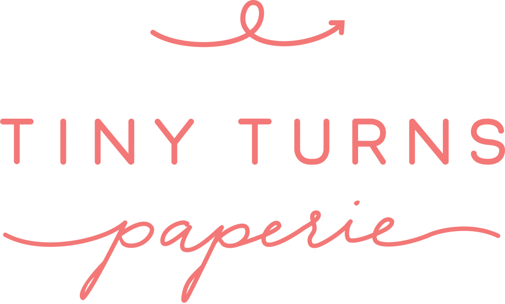 Tiny Turns Paperie Logo
